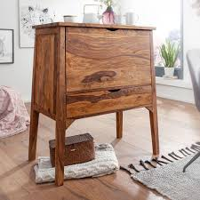 finebuy design hausbar mit buffetschrank sheesham massivholz 90 x 107 x 56 cm wohnzimmer kommode mit schublade barschrank massiv