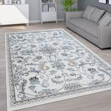 teppich wohnzimmer kurzflor orientalisches muster ornamente