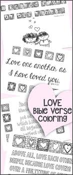 Love Bible Verse Coloring Printables Great For Adults Or Kids