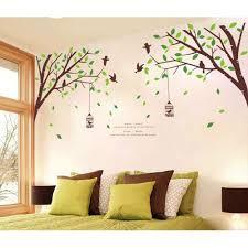 ufengke großes bild fotorahmen baum wandsticker wohnzimmer