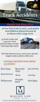 100 New York Truck Accident Attorney Infographic S Fishkill Myers Corner NY