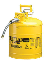 Flammable Safety Cabinet 45 Gal Yellow by Justrite Yellow Diesel Fuel Container Type 2 Capacity 5 Us Gallons