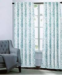 amazon com cynthia rowley turquoise window curtains annette