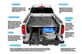 100 Truck Bed Gun Storage DECKED Midsize System