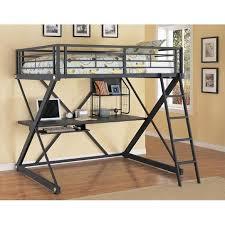 Low Loft Bed With Desk And Dresser by Kids Bunk Beds Nebraska Furniture Mart