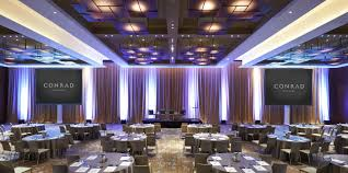 100 Conrad Design Events At New York Meetings Events