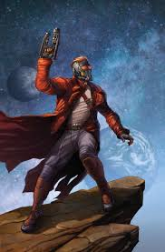 Star Lord Peter Quill Original And Limited Edition Art