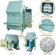 fluorescent l crusher ncr recycle system products kamacho