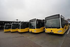 100 First Fleet Trucking MercedesBenz Citaro G Hybrid Citaro Hybrid Buses Leave The
