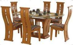 Image Result For Dining Table Designs In Wood And Glass Indian Design Wooden