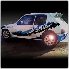 deco voiture de rallye kit déco rallye bandes adhesif auto