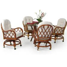 Jamaica Rattan 5 Piece Swivel Tilt Caster Dining Set Caster Chair Company C138 Marcus Swivel Tilt Arm Ding Slate W Natural Leg General Blue And Inspirational 25 Room Sets With Rolling Chairs Scheme Hanover Traditions 9piece Alinum Rectangular Patio Outdoor Set W Eight And Oat Cushions Living Accent Lazboy 20 Design For Table Rolling Swivel Ding Table Set Laminate Top Chromcraft Core C136 Silver Metal Tags Kitchen Fniture Unique With Ideas