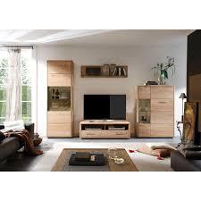 decker highboard dervio aus massivholz mit parsolglaseinsatz in grau breite 98 cm