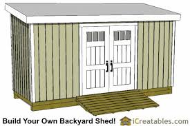 6x16 lean to shed plans
