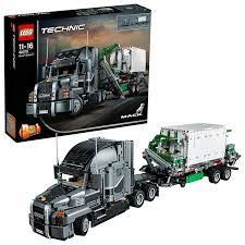 LEGO 42078 Technic Mack Anthem Toy Truck Replica, 2 In 1 Model ...