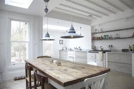 White Rustic Kitchen Tables