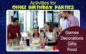 fice Birthday Party Ideas