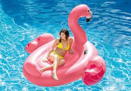 Intex Inflatable Sofa Uk by Intex Inflatable Ride On 86 Inch Mega Flamingo Island Pool Float