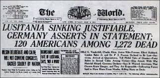 When Did Lusitania Sink by Sinking Of The Lusitania