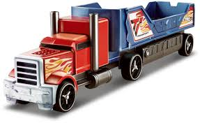 Hot Wheels® Crashin' Big Rig - Blue Flatbed Truck - Shop Hot Wheels ... Hot Wheels Trackin Trucks Speed Hauler Toy Review Youtube Stunt Go Truck Mattel Employee 1999 Christmas Car 56 Ford Panel Monster Jam 124 Diecast Vehicle Assorted Big W 2016 Hualinator Tow Truck End 2172018 515 Am Mega Gotta Ckc09 Blocks Bloks Baja Bone Shaker Rad Newsletter Dairy Delivery 58mm 2012 With Giant Grave Digger Trend Legends This History Of The Walmart Exclusive Pickup Series Is A Must And