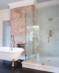 bathroom bathroom brick tiles excellent on in makeover grey and
