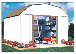 Arrow Woodridge Steel Storage Sheds by Arrow Sr1012 Shed 68222