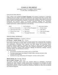 Graphic Designer Sample Resume For A India