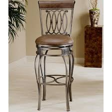 A classic bar stool pairs nicely with a Tuscan inspired kitchen