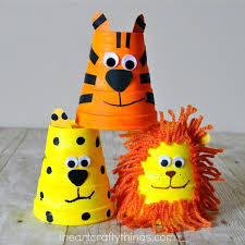 This Adorable Foam Cup Tiger Craft Is Simple To Make And Kids Will Love Playing With