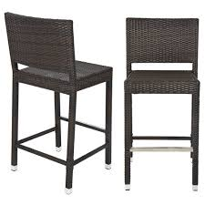 Amazon Best Choice Products Outdoor Wicker Barstool All