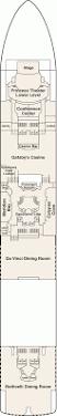 Island Princess Baja Deck Plan by Caribbean Deck 6 Fiesta 0 Gif