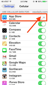 How to Control What Apps Can Use Cellular Data on iPhone