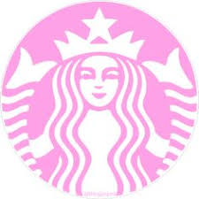 Drawn Starbucks Pink Tumblr 14