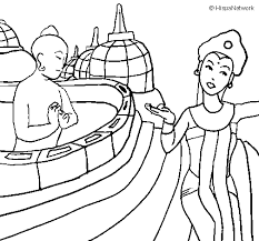 Indonesia Coloring Page