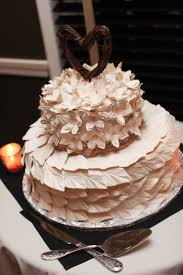 My Rustic Wedding Cake