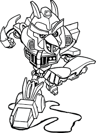 Bumblebee Transformers Coloring Pages Online Baby Bumble Bee Angry Bird Page Transformer Full Size