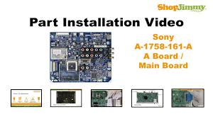 Sony Kdf 50e2000 Lamp Door by Sony Tv Repair Kdl 55 Main Boards Replacement Guide For Sony Lcd