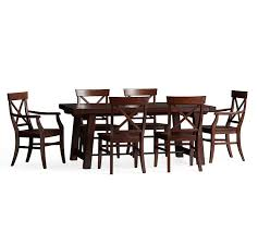 Aarons Dining Room Sets by Benchwright Extending Table U0026 Aaron Chair Dining Set Pottery Barn