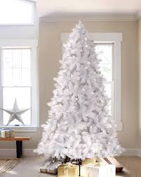 8ft Artificial White Christmas Tree by Winter White Artificial Christmas Tree Treetopia