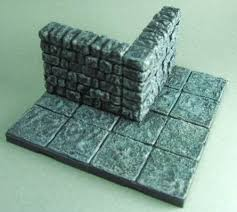 3d Printed Dungeon Tiles by Tmp Fat Dragon 3dprinted Dungeon Tiles Painted