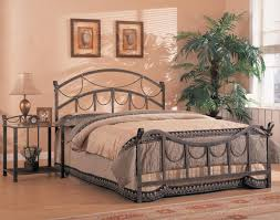 Antique Wrought Iron King Headboard by Wrought Iron Headboard King Doherty House Iron Headboard