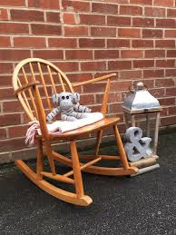 Child's ERCOL Rocking Chair Elm 1960s Mid Century Retro Vintage | In  Batley, West Yorkshire | Gumtree Vintage Childs Spring Cushion Rocking Chair 1960s Wooden Rocker Rocking Chair A Vintage Childs Wooden Rocking Chair With Nichols And Stone Co Windsor Bowback Maple Ethan Allen Shamrock Neatway Tan Molded Childrens Chairs Sale Retailadvisor 1950s Small Midcentury Retro Kids Sc 1 St Tickle Toes Hans Brockhage And Race Car Hedstrom Solid Wood Child 86 Vulcanlirik Sold Style