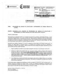 PAUTAS GENERALES PARA LA ELABORACIÓN DE LA CARTA DE PRESENTACIÓN Y