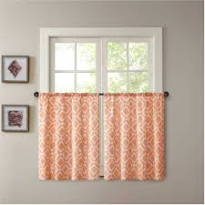 Orange Kitchen Curtains Ideas Including Outstanding Kitchenaid