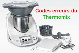 cuisine thermomix codes erreurs du thermomix plat et recette recettes de cuisine