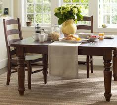 Catchy Pottery Barn Kitchen Tables Sumner Extending Dining Table