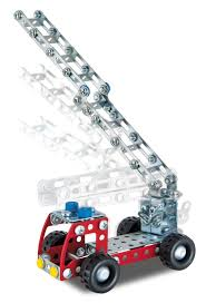 100 Metal Fire Truck Toy Eitech Building Kit Buy At Kidsroom S S