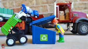 100 Trash Trucks On Youtube GolfClub