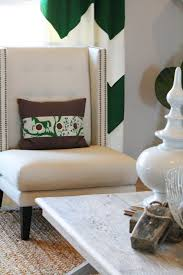 Gold And White Chevron Curtains by Emerald Green Curtains Design Ideas
