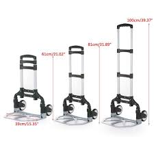 100 Hand Truck Vs Dolly Homgrace And Up To 150 Lb Capacity Adjustable
